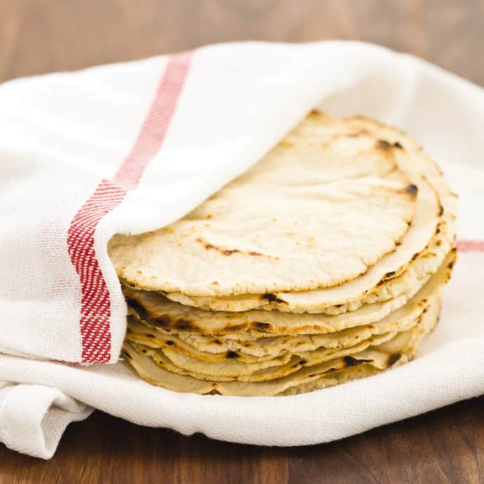 Cast Iron Corn Tortillas
