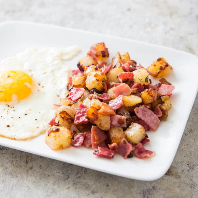 Cast Iron Corned Beef Hash