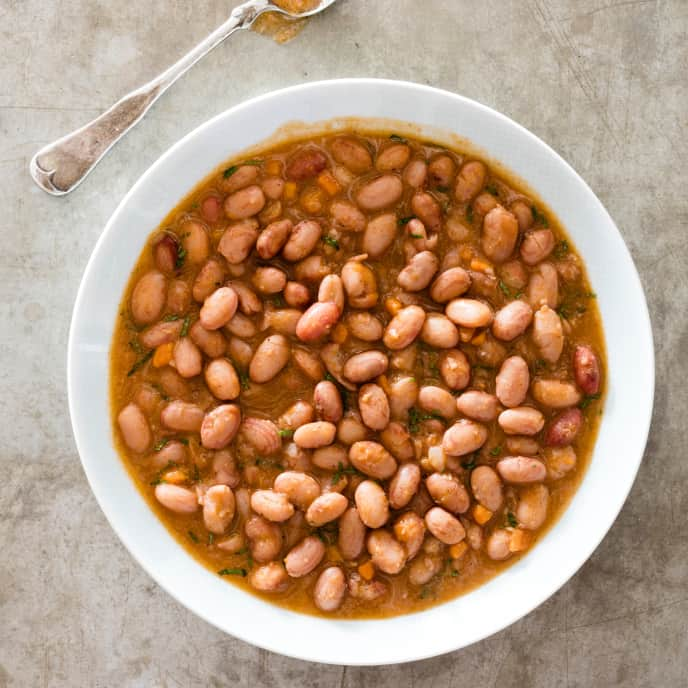 Cranberry Beans with Warm Spices