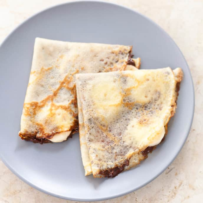Gluten-Free Crepes with Lemon and Sugar