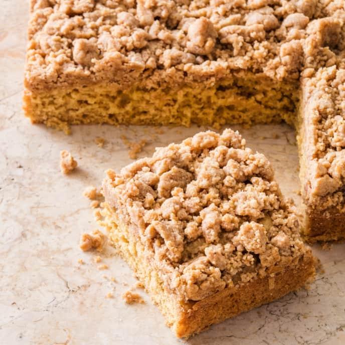 Crumb Cake (Reduced Sugar)