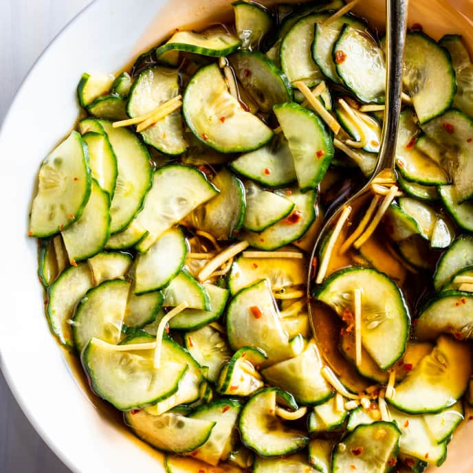 Cucumber-Ginger Salad