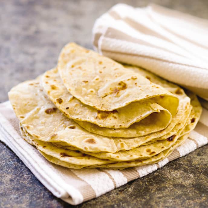 Cast Iron Flour Tortillas