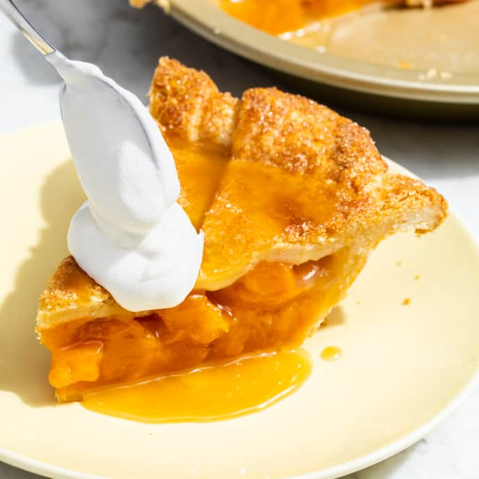 Endless Summer Peach Pie