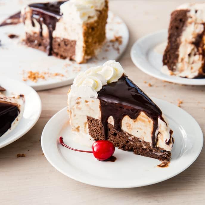 Fried Ice Cream Cake