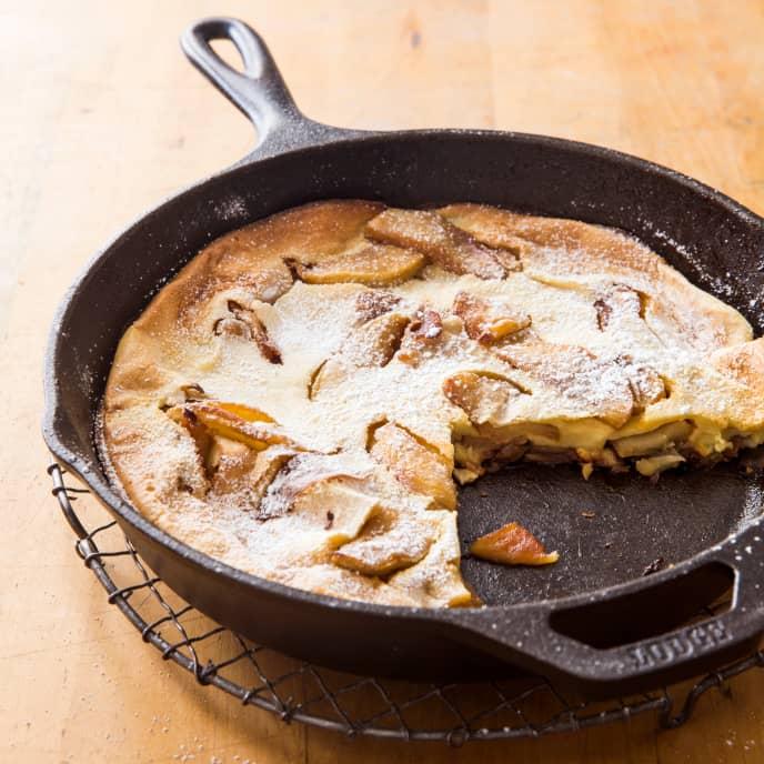 Cast Iron German Apple Pancake