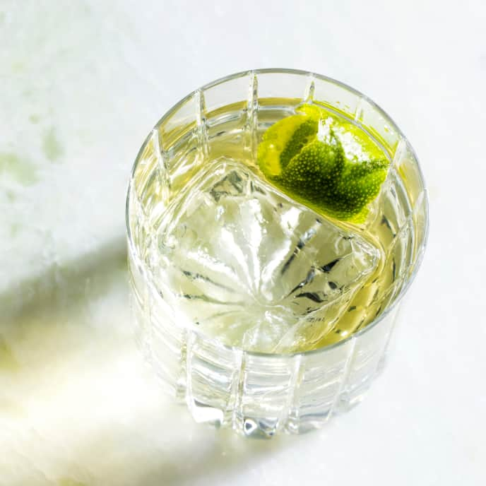 New-Fashioned Gin and Tonic