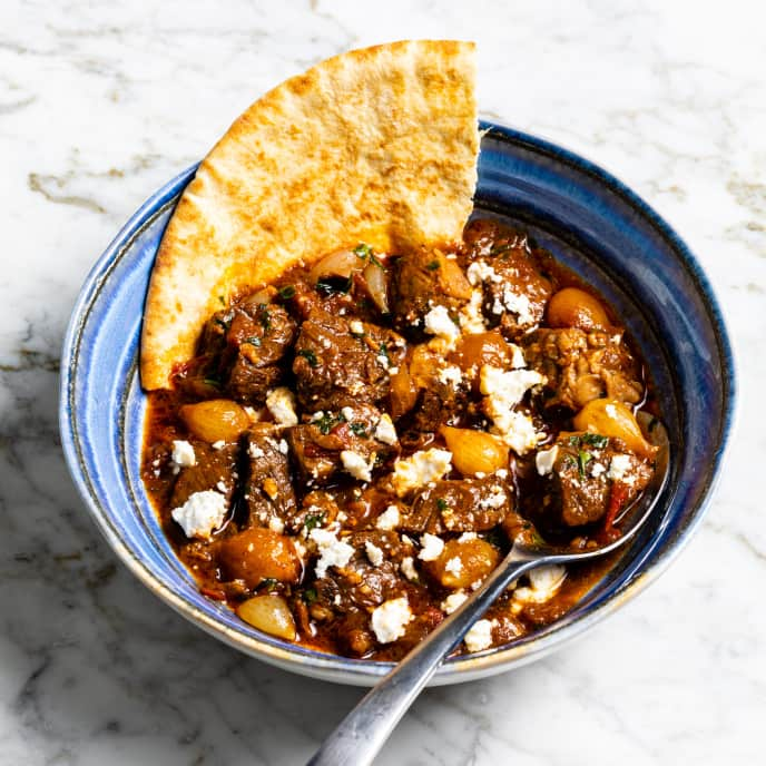 Greek Beef Stew (Stifado)