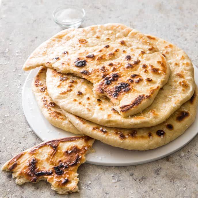 Cast Iron Griddled Flatbreads