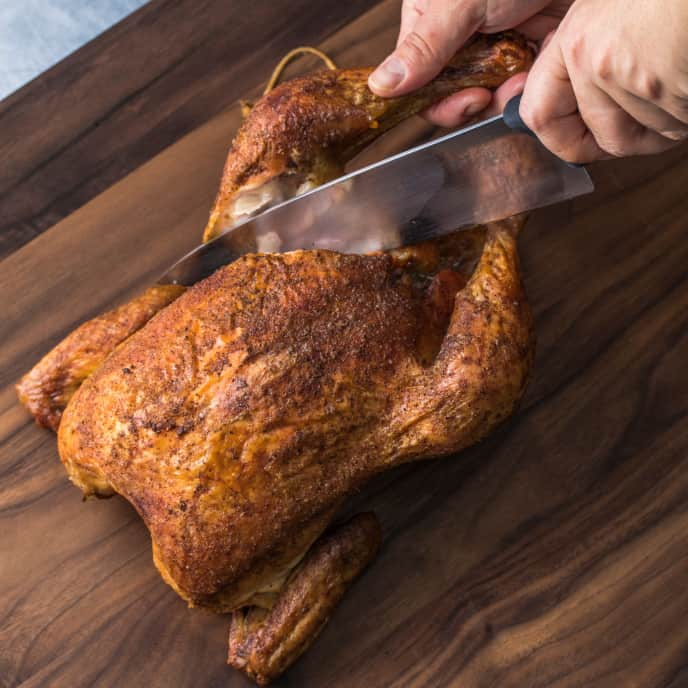 Easy Grill-Roasted Whole Chicken