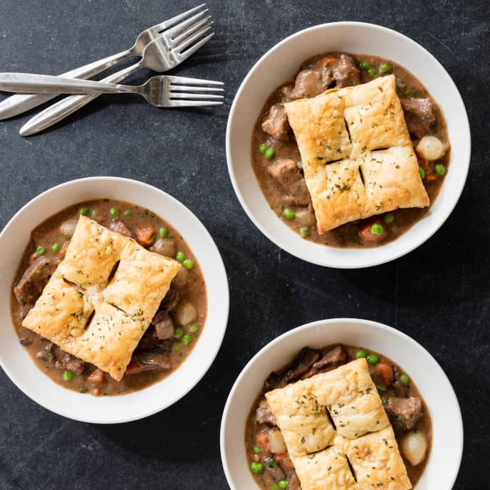 Slow-Cooker Hearty Beef and Vegetable Pot Pie