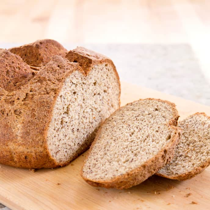 Gluten-Free Hearty Country Flax Bread