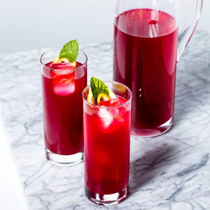 Hibiscus Guava Agua Fresca