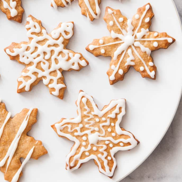 Holiday Cookies (Reduced Sugar)