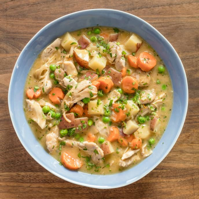 Slow-Cooker Homey Chicken Stew