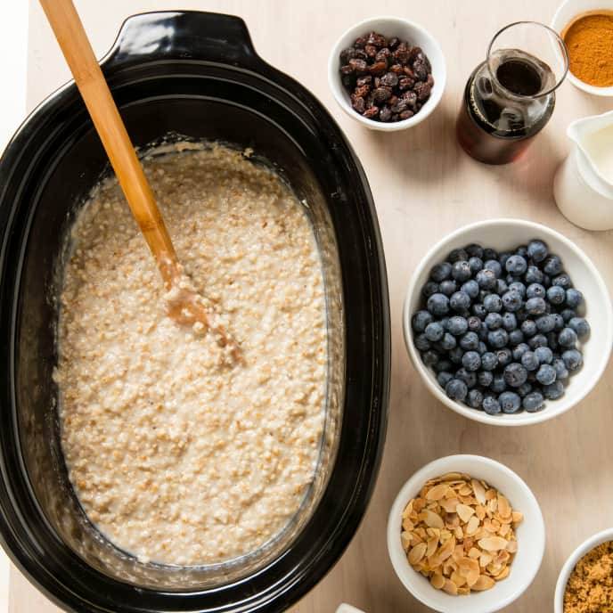 Slow-Cooker Irish Oatmeal