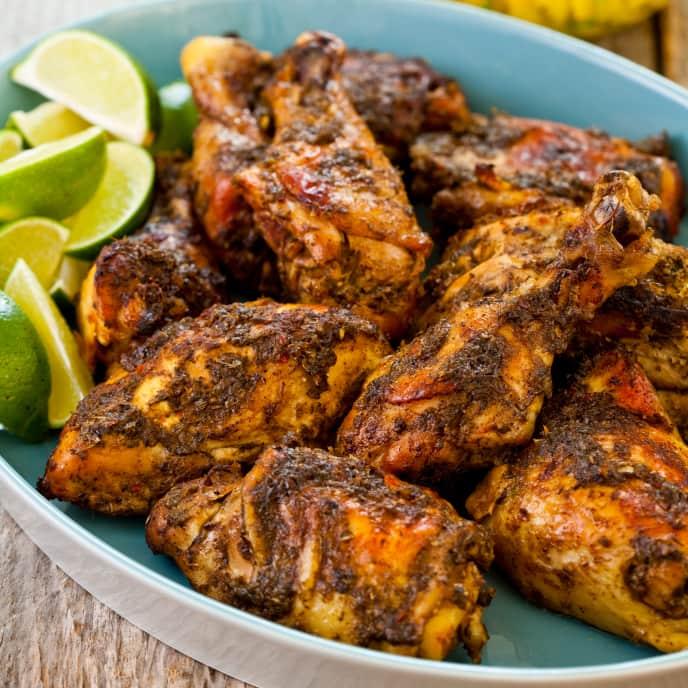 Slow-Cooker Jerk Chicken
