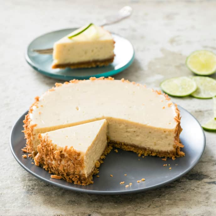 Slow-Cooker Key Lime Pie