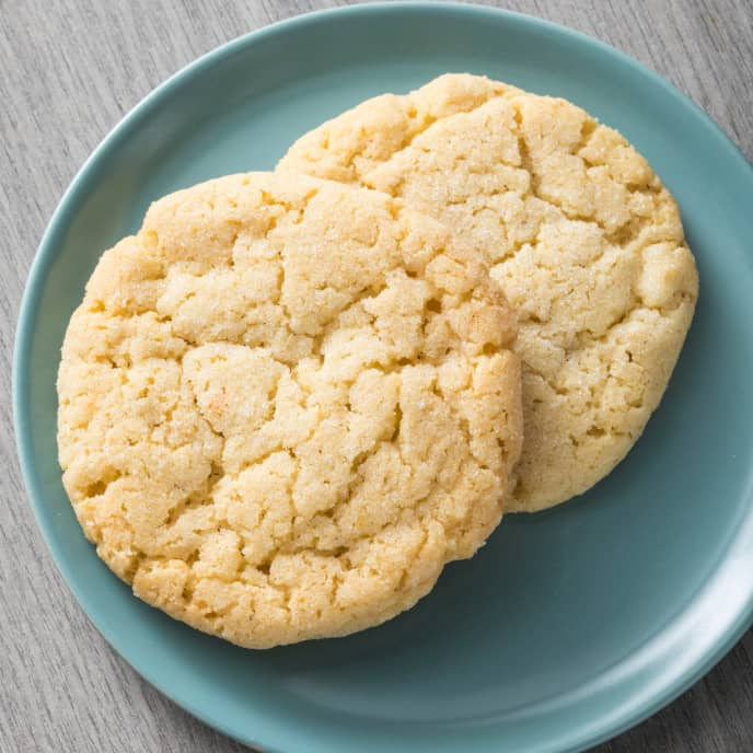 Chewy Olive Oil, Anise, and Orange Sugar Cookies