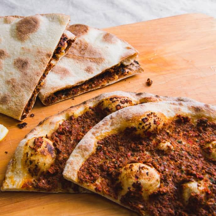 Lahmajun (Armenian Flatbread)