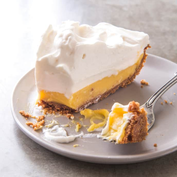 Lemon Cream Pie (Reduced Sugar)