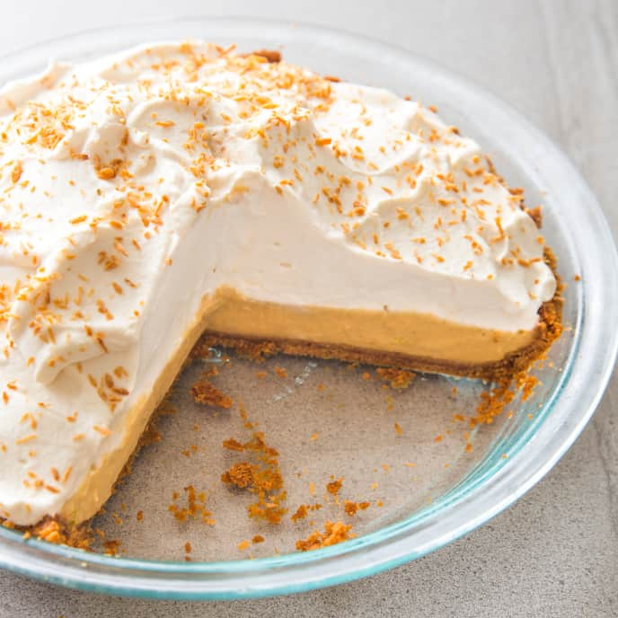 Coconut–Lime Cream Pie (Reduced Sugar)