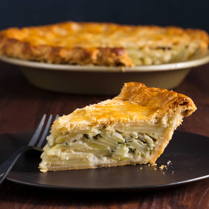 Tourte aux Pommes de Terre (French Potato Pie)