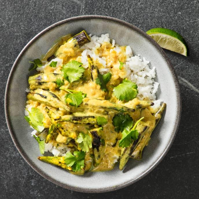 Madras Okra Curry