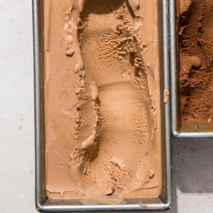 Malted Milk Chocolate No-Churn Ice Cream