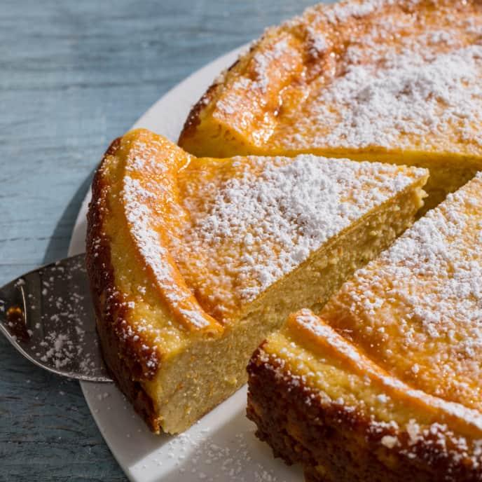 Migliaccio di Semolino (Semolina and Ricotta Cake)