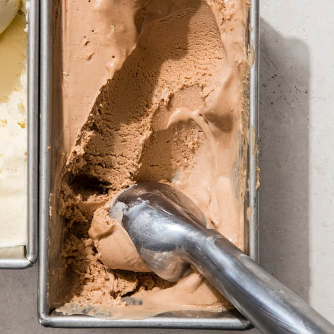 Milk Chocolate No-Churn Ice Cream