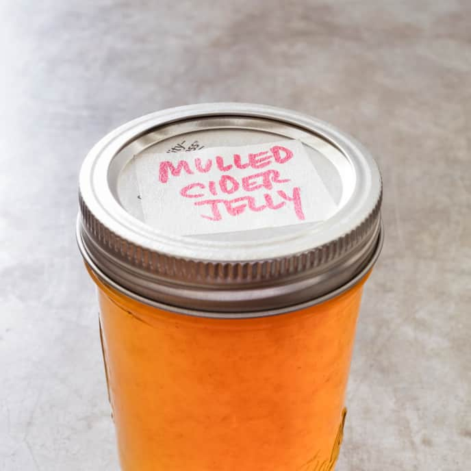 Mulled Cider Jelly
