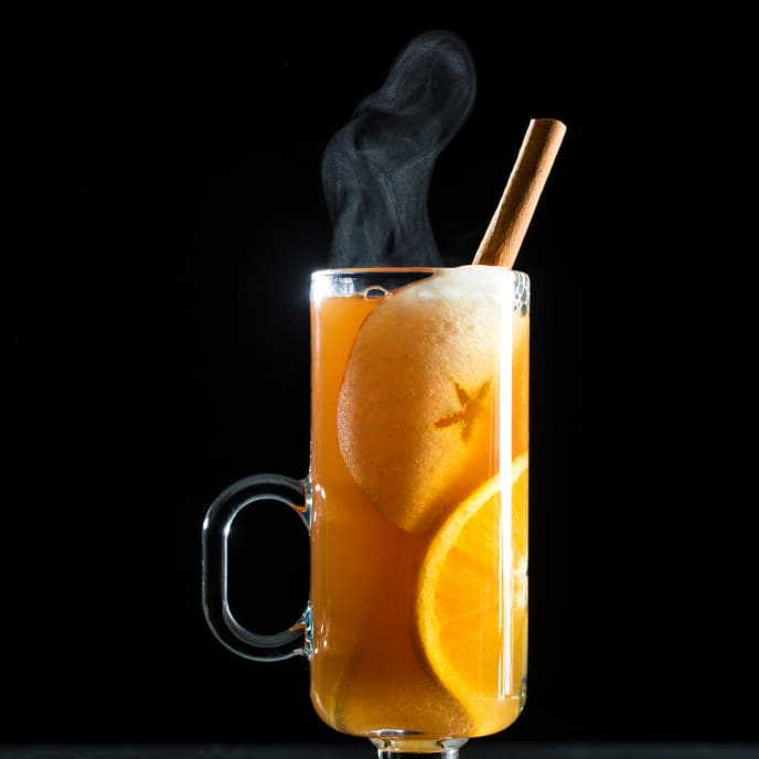 Brandied Mulled Cider