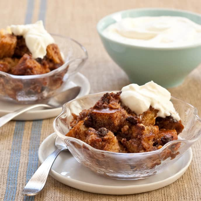 Slow-Cooker Nutella Bread Pudding
