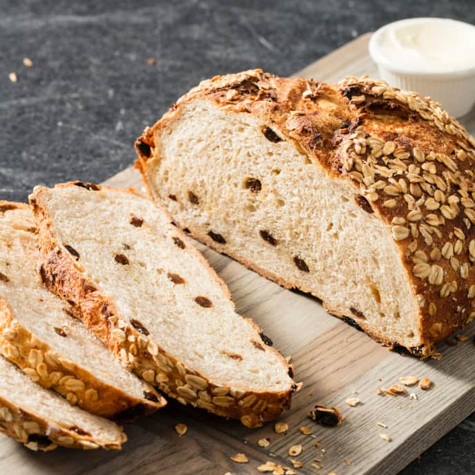 Oatmeal-Raisin Bread