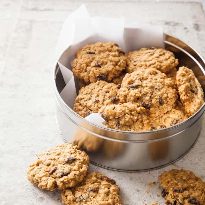 Oatmeal–Raisin Cookies