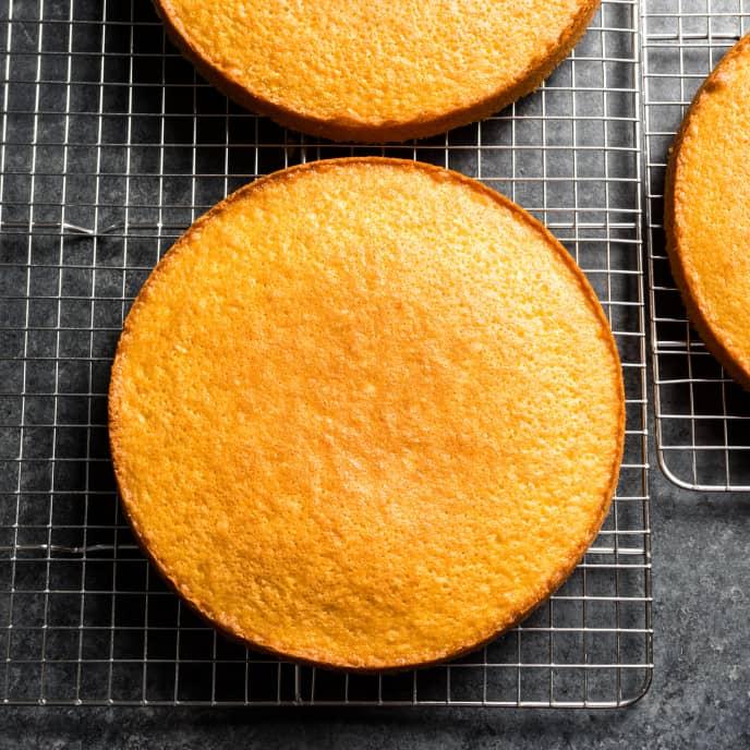 Orange-Olive Oil Layer Cake