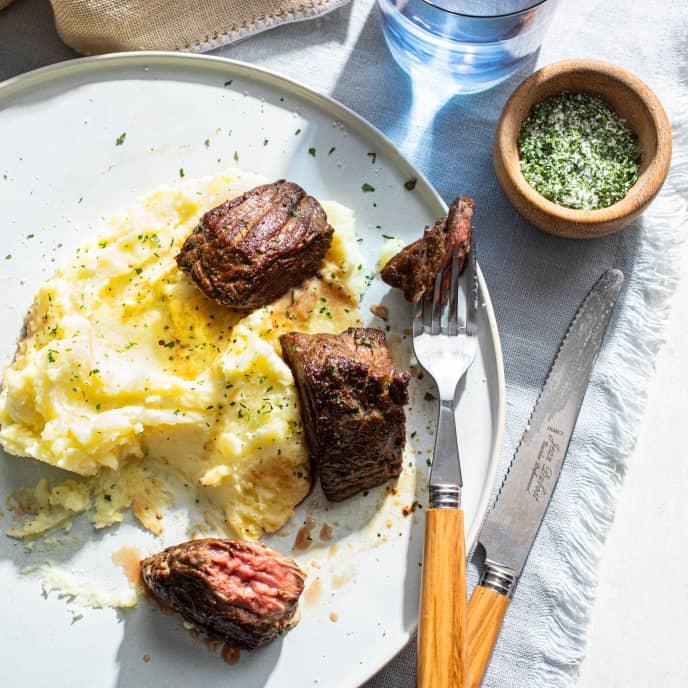Sirloin Steak Tips for One