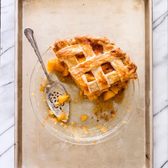 Peach Pie (Reduced Sugar)