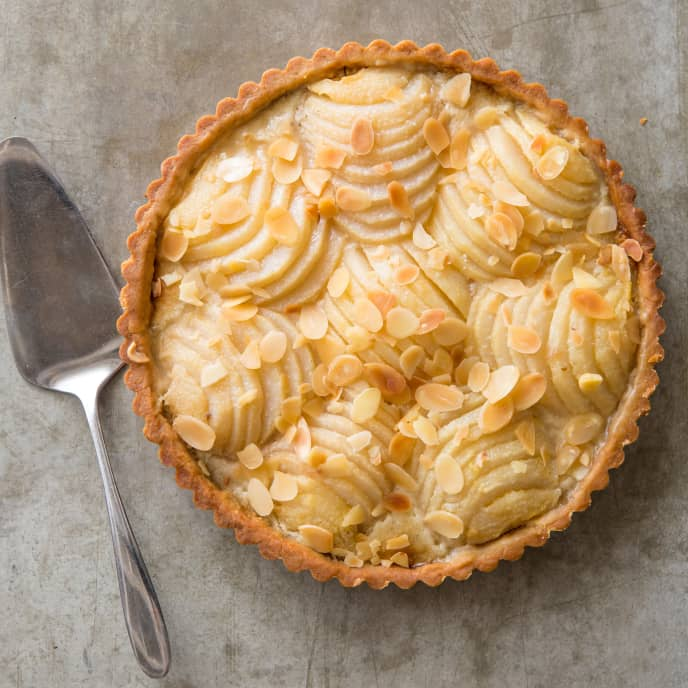 Pear and Almond Tart (Reduced Sugar)