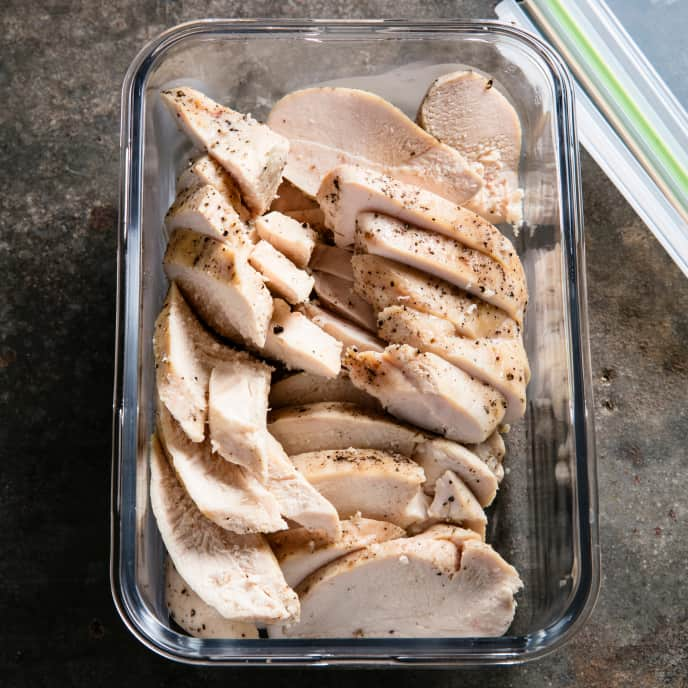 Sous Vide Soy-Ginger Poached Chicken