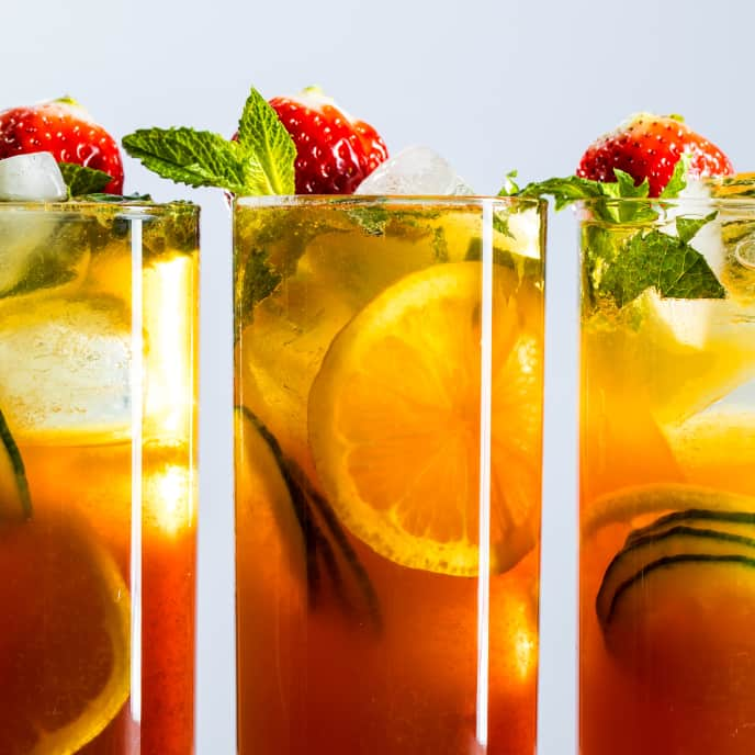 Pimm's Cups for a Crowd