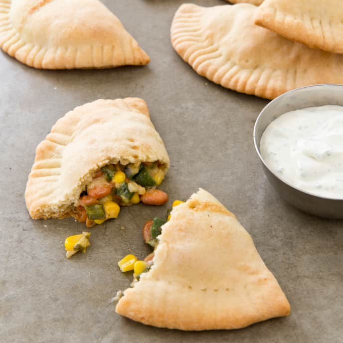 Poblano and Corn Hand Pies