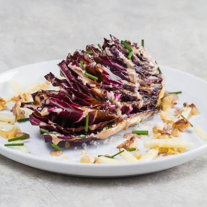 Seared Radicchio Wedge Salad