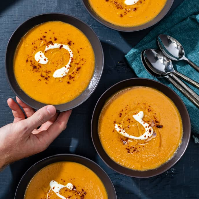 Red Lentil and Squash Soup