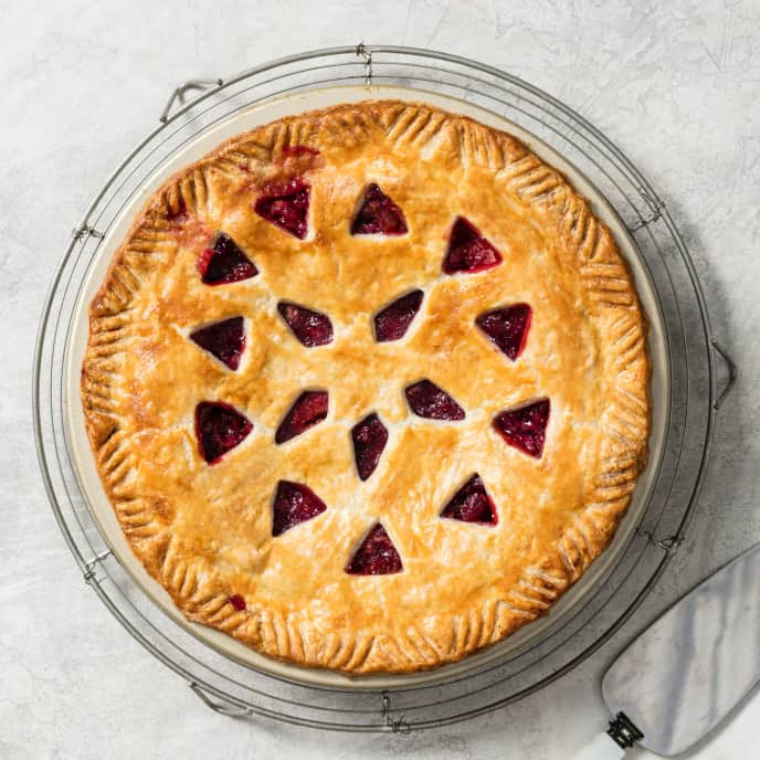 Red Currant and Fig Pie