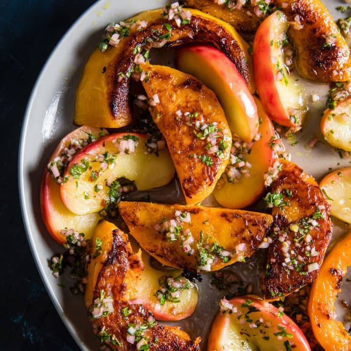 Roasted Butternut Squash with Apple