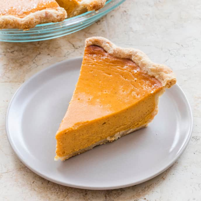 Roasted Sweet Potato Pie (Reduced Sugar)
