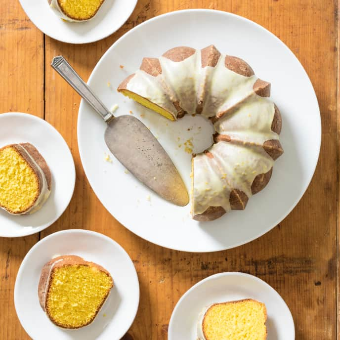 Saffron-Orange Bundt Cake