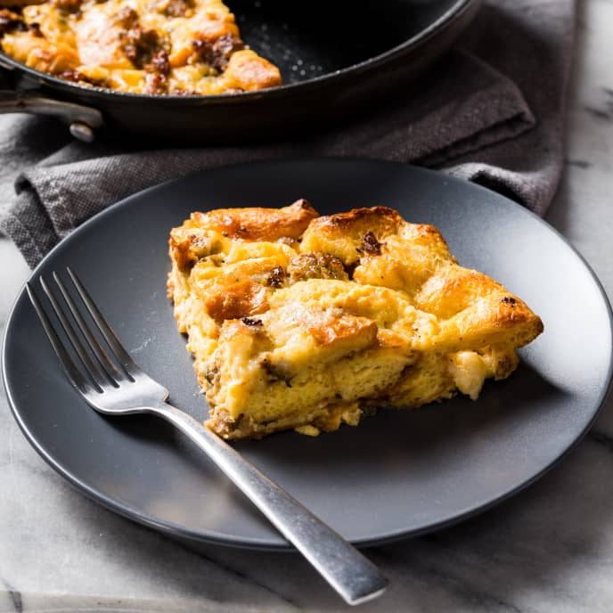 Sausage Strata for Two